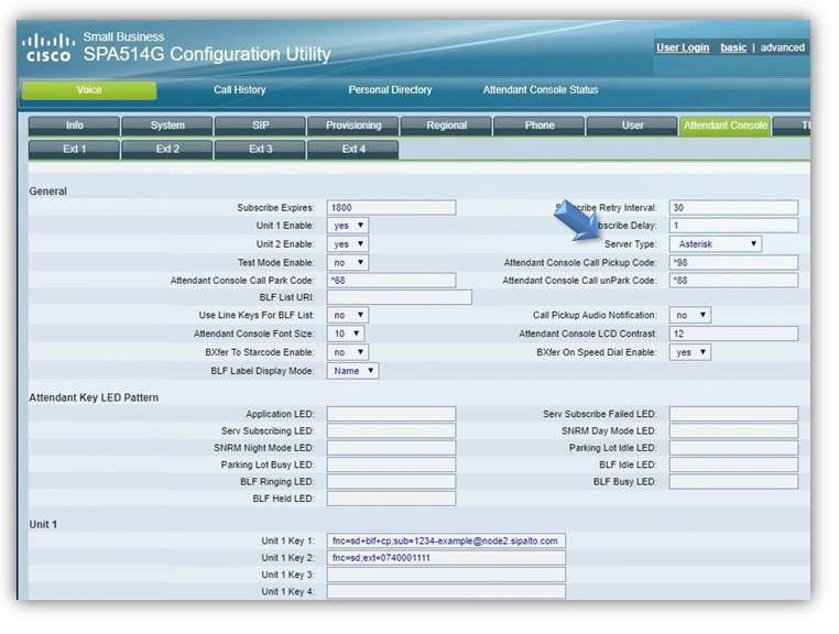 Configure BLF (Busy Lamp Field) – SiPalto Helpdesk